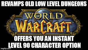 Instant Meme Maker - scumbag blizzard and warlords of draenor imgflip