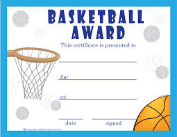 Basketball Certificates Templates Free basketball certificate templates professional and high quality