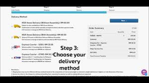 how to order ikea online using self checkout portal youtube