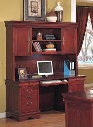Office Desk Drawers Cherry Classic Office Desk W Storage Drawers