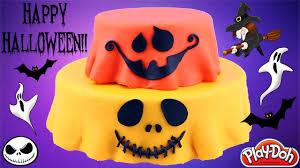 halloween pumpkin play doh surprise cake bffs inside out