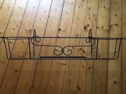 balkon blumenkasten mit halterung 2xblumenkorb blumen blumenkasten balkon halterung nur bis 25 10