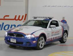 ford mustang dubai dubai ambulance service adds ford mustangs to fleet transport