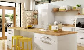 gloss kitchen tile ideas glencoe wickes kitchen i like the area with the stools in the