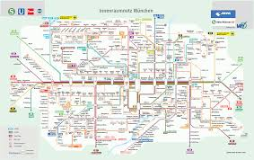 Washington Dc Metro Map Pdf by Munich Subway Map Pdf My Blog
