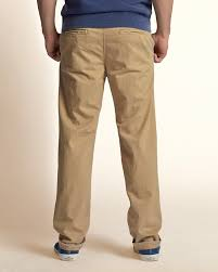 Hollister Skinny Jeans Mens Simple Hollister Slim Straight Button Fly Chinos Men Light Khaki