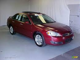 2007 Chevy Impala Interior 2007 Red Jewel Tint Coat Chevrolet Impala Ltz 32178366 Photo 3
