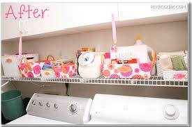 storage and organization ideas for laundry room
