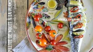 cuisiner le mulet papillote de mulet à la plancha au citron gingembre et piment