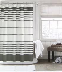 Charcoal Shower Curtain Hilfiger Valleys Stripe Shower Curtain Charcoal Grey