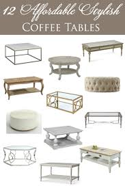 Affordable Coffee Tables 12 Affordable Stylish Coffee Tables