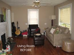 Before  After Decorating A S Bungalow Hooked On Houses - Bungalow living room design