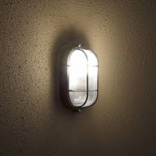Bulkhead Outdoor Lights Oval Bulkhead Outdoor Wall Light