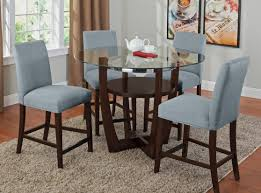 dining room fantastic ideal blue high back dining room chairs