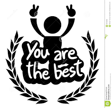 the best icon you are the best stock vector illustration of comic 30755835