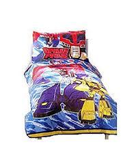 Transformer Bed Set Transformers 4 Pcs Toddler Bedding Set Comforter
