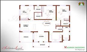 5 Bedroom Ranch Floor Plans by Bedroom Ranch House Plans 4 Bedroom House Plans Kerala Style Lrg