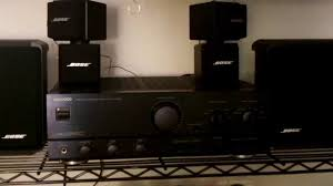 bose 7 1 home theater system my bose speakers 6x bose subwoofer kenwood ka 5010 amplifier