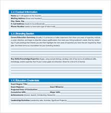 Free Resumes To Download Sample Graphic Design Resumes 7 Download Free Documents In Pdf Word