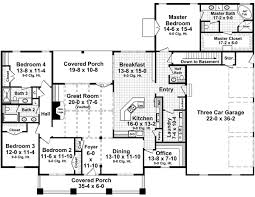 covered porch house plans house plan 59978 at familyhomeplans com