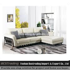 White Leather Sofa Set White Leather Sofa Stainless Steel Metal Legs Sofa Sofa Set