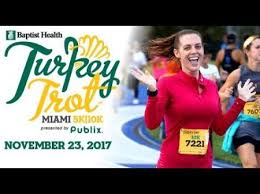 turkey trots and thanksgiving parades in miami and ft lauderdale