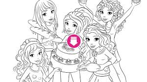 lego friends downloads mias cupcake party cupcake party