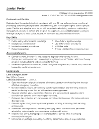 resume template for executive assistant professional federal administrative assistant templates to resume templates federal administrative assistant