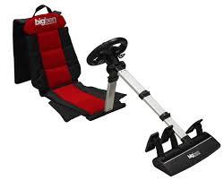 volant sans fil siège baquet pour ps2 ps3 et pc bigben