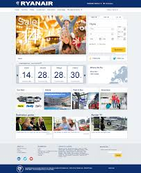 Ryanair Route Map by Ryanair Gives Its Homepage A Makeover Econsultancy