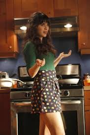 zooey deschanel new girl fashion wwzdw what would got these smudge dot shorts by marc by marc jacobs before i saw