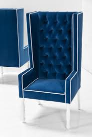Silver Accent Chair Blue Velvet Chair Royal Living Room Furniture And Silver Wedding