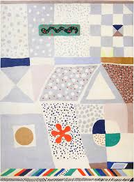 mid century scandinavian rug by artist josef frank 49125 nazmiyal