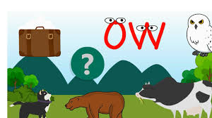 ow sound phonics youtube