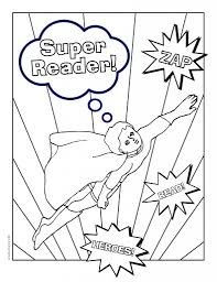 summer reading coloring pages eson me