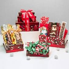 indulgence gift tower gourmet gift assortment from