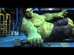 hulk trying to lift thor s hammer youtube