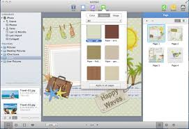 travel photo album how to make travel scrapbook using digital scrapbooking software