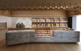 old and new meet in contemporary bakery interior design mindful