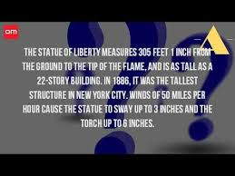 Pedestal Tickets Statue Of Liberty How High Is The Pedestal Of The Statue Of Liberty Youtube
