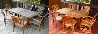 Redwood Patio Table Cal Preserving Wood Care Maintenance U0026 Restoration