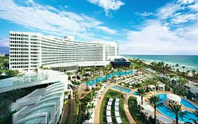 Miami Beach Hotels Map by Miami Beach Luxury Hotels U0026 Resorts Fontainebleau Miami Beach