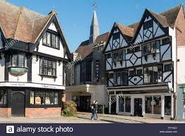 tudor buildings and new royal cinema market place faversham
