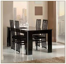 Black Lacquer Dining Room Furniture Lacquer Dining Table