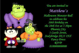 halloween party invitations halloween party invites customised