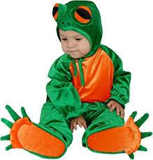 18 Months Halloween Costumes Amazon Green Frog Kids Halloween Costume Toys U0026 Games
