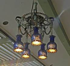 Outdoor Chandelier Diy How To Build Your Own Cyclepunk Chandelier From Bike Parts And