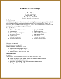 Accounting Job Resume Sample by Resume Sample Of Hrm Graduate Templates