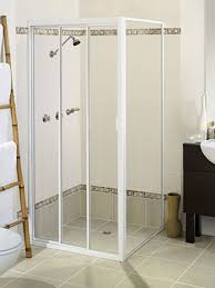 Sliding Shower Screen Doors Elite Tri Door Sliding Shower Screen Lansdell Glass