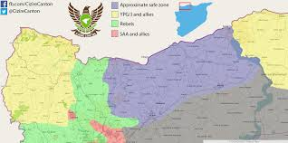 Map Of Syria And Turkey by Turkey And The Us Have Agreed On The Outlines Of A De Facto U201csafe